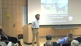 Thumbnail for entry Storer Lecture - Daniel Rubenstein 01-28-2009