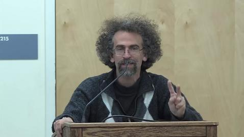 Thumbnail for entry Book Project 2015-16: Sasha Abramsky
