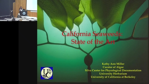 Thumbnail for entry BML - Kathy Ann Miller: California Seaweeds - State of the Art