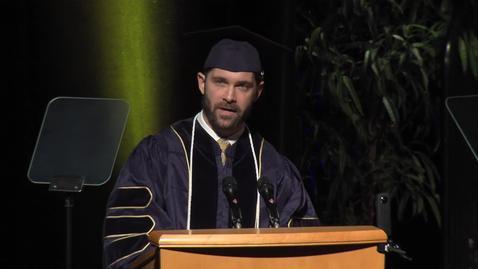 Thumbnail for entry 2016 School of Law Student Speaker - Greg Agron