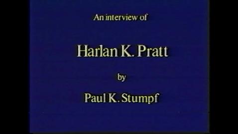 Thumbnail for entry Harlan Pratt