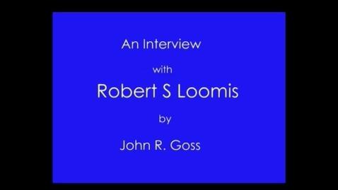 Thumbnail for entry Robert Loomis