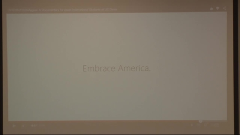 Thumbnail for entry Asian International Students at UC Davis Roundtable