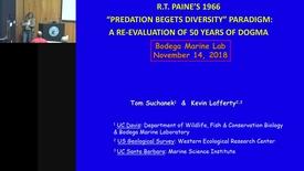 "Thumbnail for entry BML - Tom Suchanek: R.T. Paine's ""Predation Begets Diversity"" paradigm"
