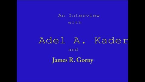 Thumbnail for entry Adel Kader