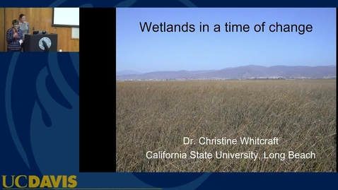 Thumbnail for entry BML - Christine Whitcraft: Wetlands in a time of change