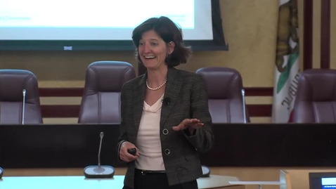 Thumbnail for entry UC Capitol Speakers Series:  Amanda Kimball 11-18-2015