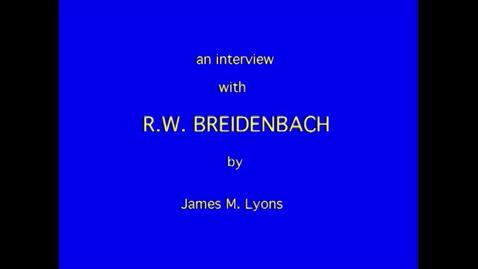 Thumbnail for entry R. Breidenbach