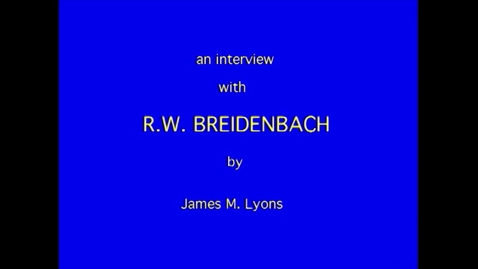 Thumbnail for entry R. Breidenbach
