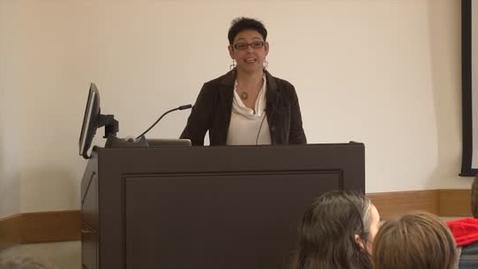 Thumbnail for entry NAS Brown Bag Lecture Series - Fall 2014: Doris Maldonado 12-10-14