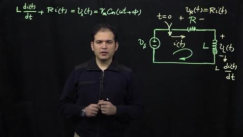 Thumbnail for entry Sinusoidal Response of Circuits (Part 3: Applying Phasor Transform)