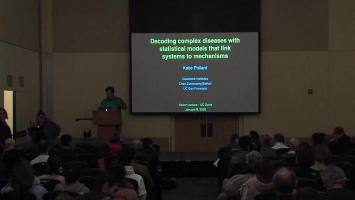 Storer Lecture - Katherine Pollard - January 8, 2020