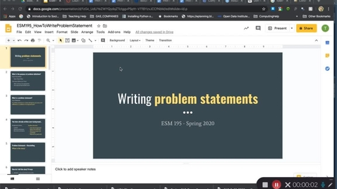 Thumbnail for entry ESM195_Spring2020_HowToWriteProblemStatement