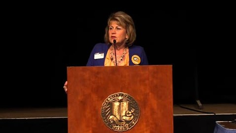 Thumbnail for entry Transfer Preview Day 2013: Keynote: ASUCD President Carly Sandstrom