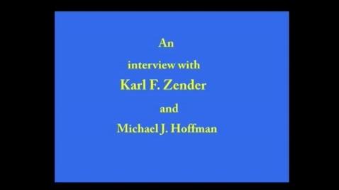 Thumbnail for entry Karl Zender