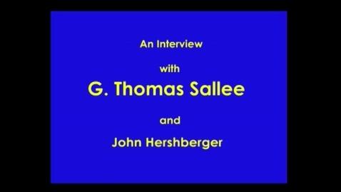 Thumbnail for entry G. Thomas Sallee