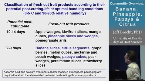 Thumbnail for entry Banana, Pineapple, Papaya and Citrus - (Brecht)