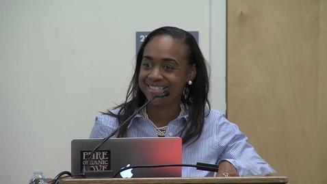 Thumbnail for entry Maisha T. Winn (11-16-2015) - UC Davis School of Education Distinguished Thinker Speaker Series