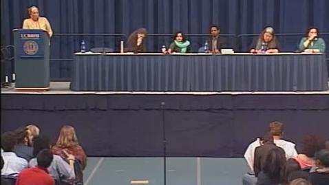 Thumbnail for entry Angela Davis Teach-In: Faculty Roundtable