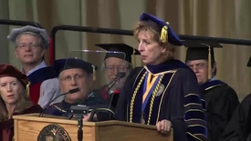 Thumbnail for entry 2015 College of Letters and Science Commencement Speaker: Delaine Eastin