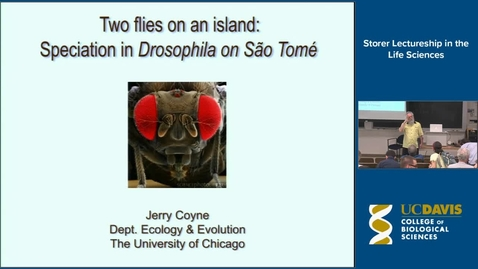 Thumbnail for entry Storer Lecture - Jerry Coyne 4-10-14