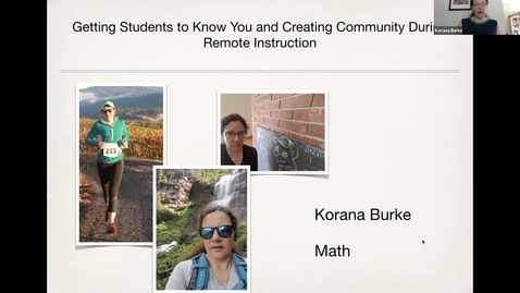 Thumbnail for entry SITT 2020 Live Event - Dr. Korana Burke