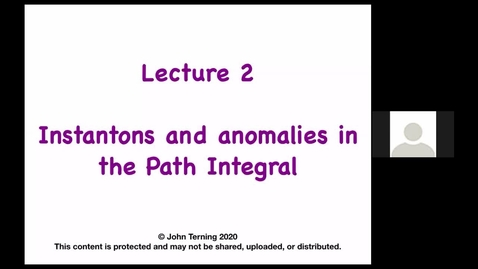 Thumbnail for entry Advanced Supersymmetry: Lecture 2