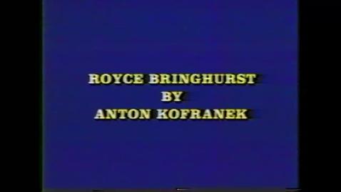 Thumbnail for entry Royce Bringhurst