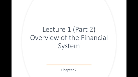 Thumbnail for entry ECN 135: Lecture 1 (Part 2.1)