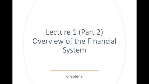 Thumbnail for entry ECN 135: Lecture 1 (Part 2.1)
