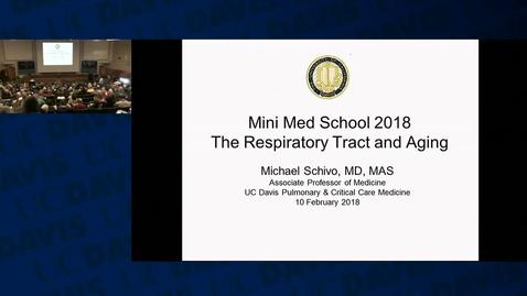 Thumbnail for entry Mini Medical School 2018 Week 2: 2018-2-10