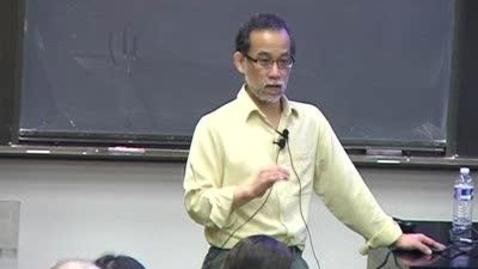 Thumbnail for entry Storer Lecture - John Mitani  12-02-2010