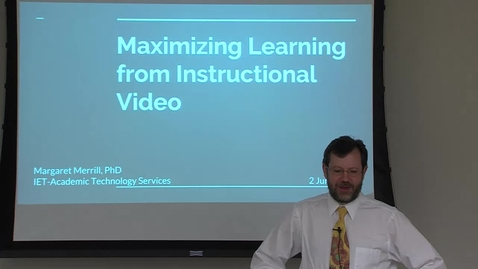 Thumbnail for entry 6/2/2017 DOLCE : Maximizing Learning from Instructional Video