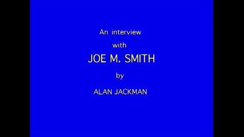 Thumbnail for entry Joe Smith