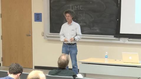 Thumbnail for entry Storer Lecture Series - lkka Hanski 4-26-2012