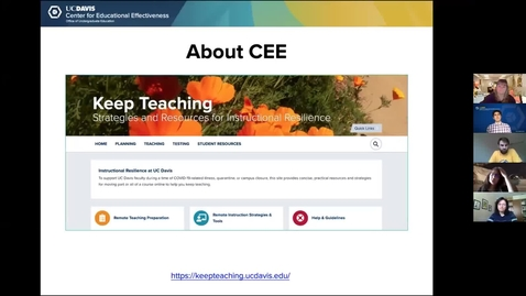 Thumbnail for entry 14May_CEEFacultyConnect