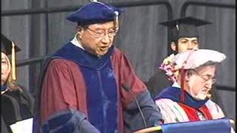 Thumbnail for entry 2008 Letters and Science PM Commencement Ceremony 06-14-2008 2PM