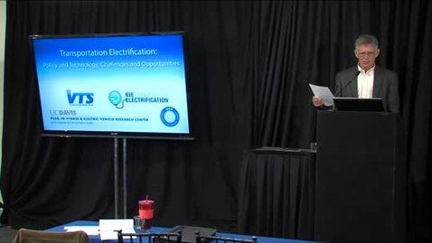 Thumbnail for entry Transportation Electrification: UCD-IEEE 11-7-13 Joe Decuir