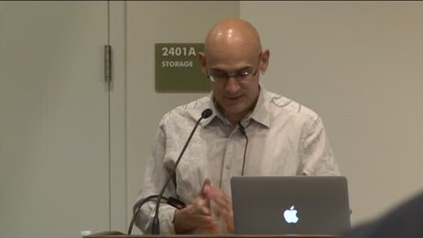 Thumbnail for entry Sawyer Seminar Series: 3/18/2013: Alberto Corsín Jiménez