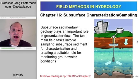 Thumbnail for entry HYD151: Subsurface Sediment Characterization and Sampling