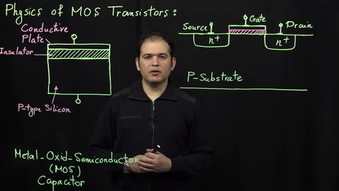 Thumbnail for entry MOS Transistors (Part 1: Basics of Operation)