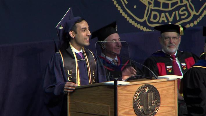 2018 Engineering Student Speaker – Shonit Nair Sharma - June 17, 2018