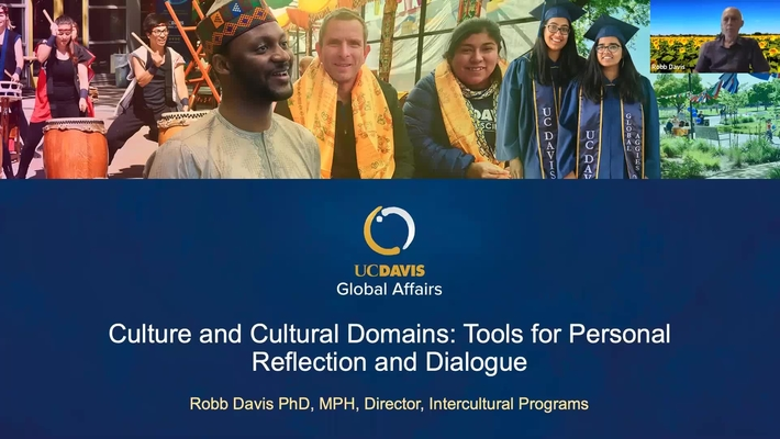 Culture and Cultural Domains: Tools for Personal Reflection and Dialogue with Robb Davis