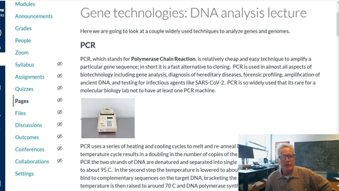 Thumbnail for entry Gene technology: DNA analyses
