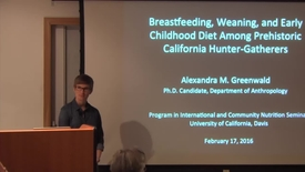 Thumbnail for entry Breastfeeding, Weaning, and Early Childhood Diet in Prehistoric California Hunter-Gatherers
