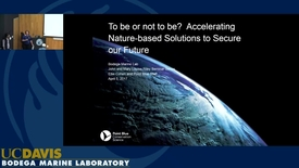 Thumbnail for entry BML - Ellie Cohen: To be or not to be? Accelerating Nature-based Solutions to Secure our Future