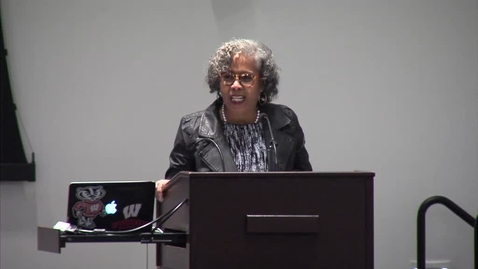 Thumbnail for entry Gloria Ladson-Billings  (01-22-15) -  School of Education Distinquished Thinkers Speaker Series