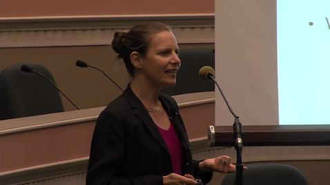 Thumbnail for entry UC Capitol Speaker Series: Eleanor B. Schwarz  10-15-2015