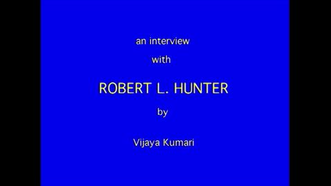 Thumbnail for entry Robert Hunter