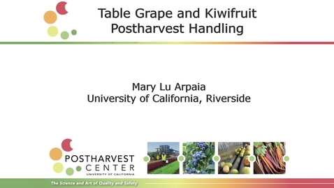 Thumbnail for entry Table Grapes and Kiwifruit (Arpaia)